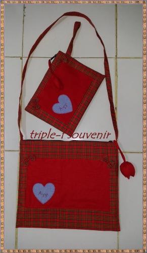 tas dan dompet red love