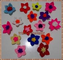 topping flanel bunga